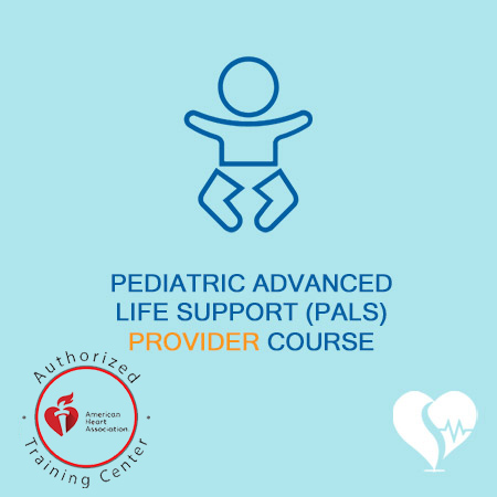 American Heart Association - AHA -pediatric advanced life support provider course pals