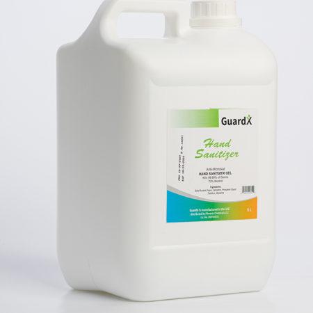 GuardX Hand Sanitizer 5L
