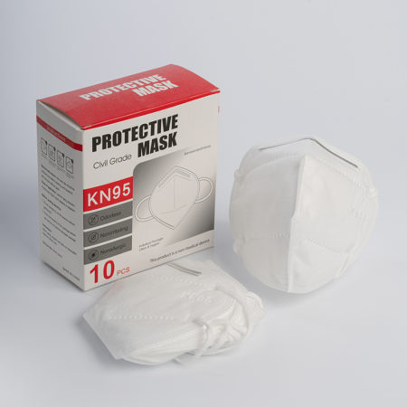 KN95 Protective White Mask