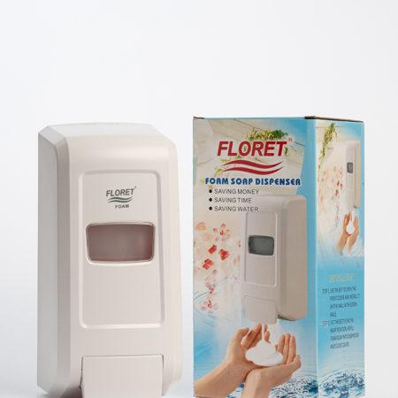 Floret Dispenser-White/1000ml