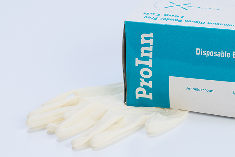 ProInn Latex Gloves White