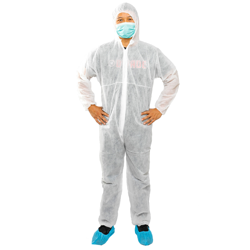 Disposable CoverAll-White/Medium
