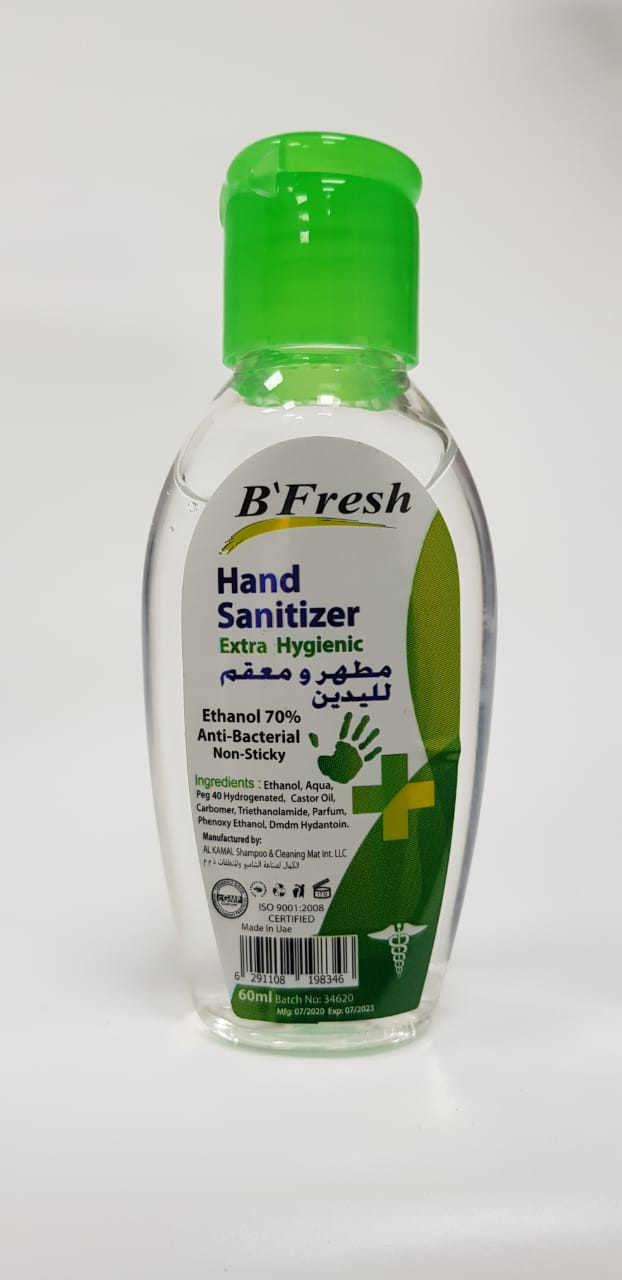 B'Fresh Hand Sanitizer 60ml